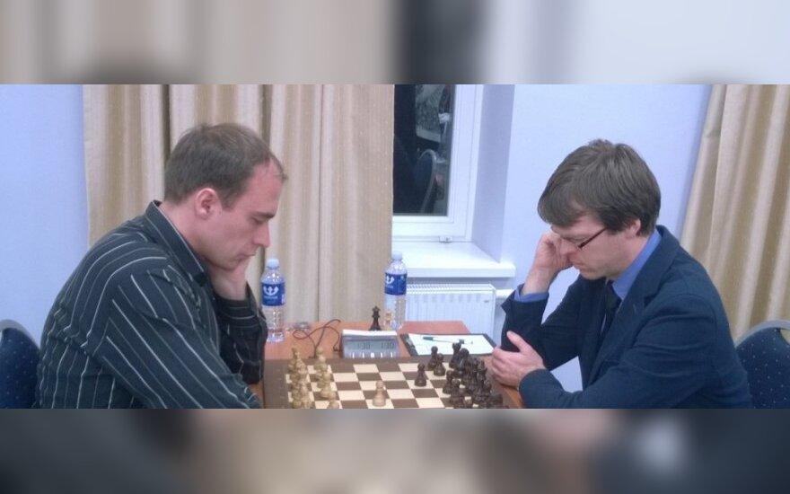 Šarūnas Šulskis (dešinėje)