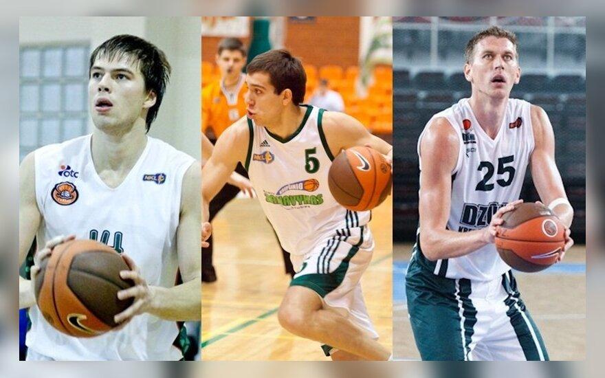 Apžvalga: NKL geriausi žaidėjai įžengus į 2013-uosius