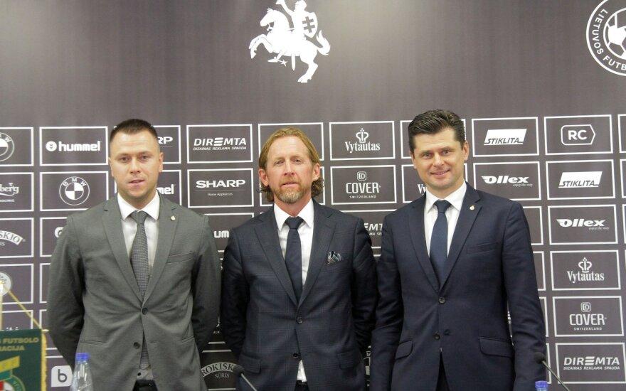 (iš kairės) Edgaras Stankevičius, Patrickas De Wilde, Tomas Danilevičius