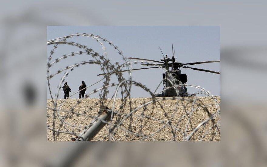 Žiniasklaida paviešino slaptus dokumentus apie Afganistano karą