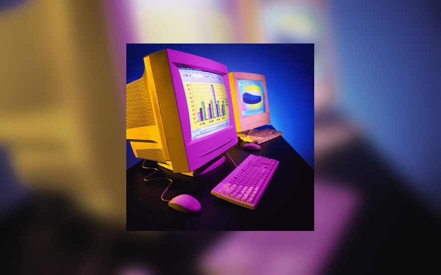 kompiuteris, IT, internetas, ofisas, darbas