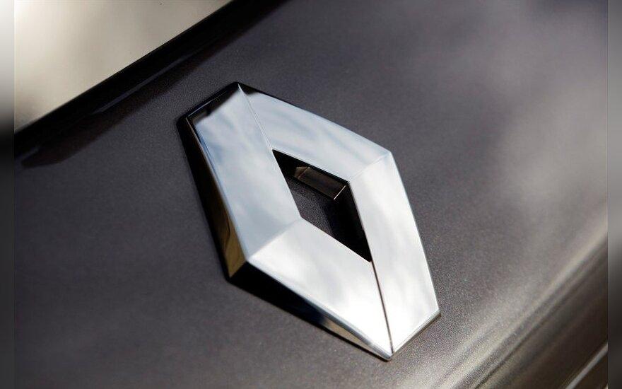 """""""Renault"""" pelną sumažino suprastėję """"Nissan"""" rezultatai"""
