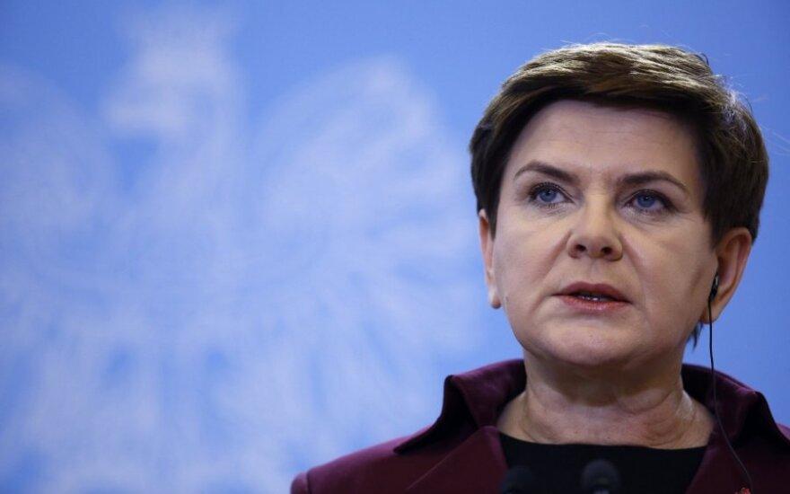 Lenkijos opozicijai nepavyko atstatydinti vyriausybės