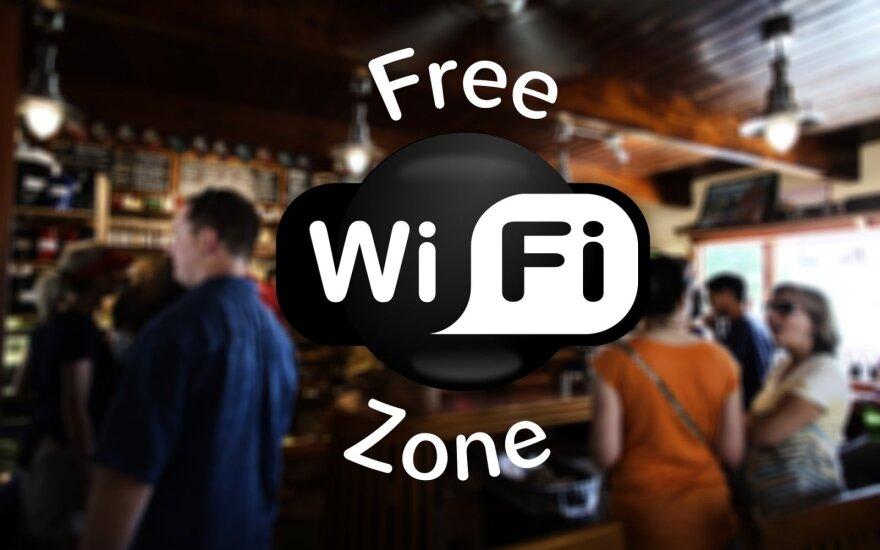 Atviras Wi-Fi – atviri ir jūsų duomenys