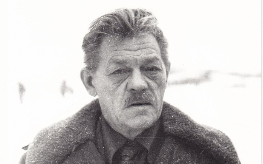 Paulius Širvys apie 1978 m., nuotr. iš Maironio lietuvių literatūros muziejaus fondų
