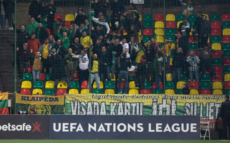 Lietuvos futbolo rinktinės gerbėjai