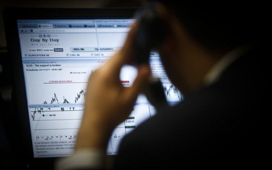 Investuotojų optimizmas JAV akcijų biržose išsilaikė