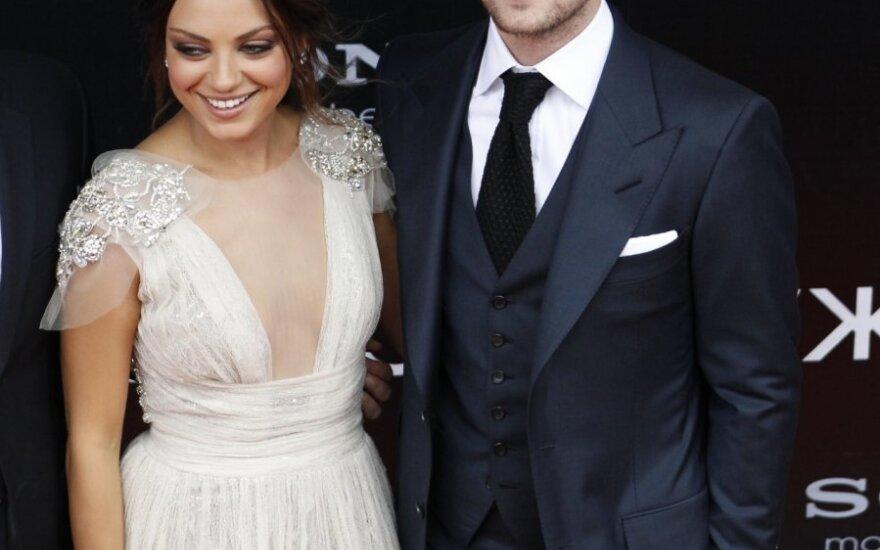 Mila Kunis ir Justinas Timberlake'as