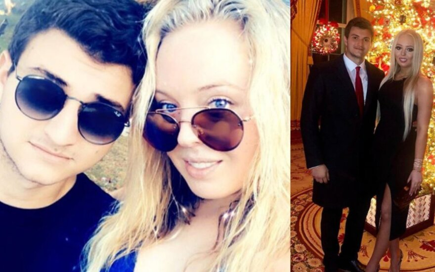 Michaelas Boulosas ir Tiffany Trump