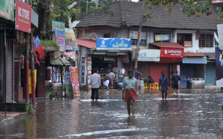 Potvynis Indijos Keralos valstijoje