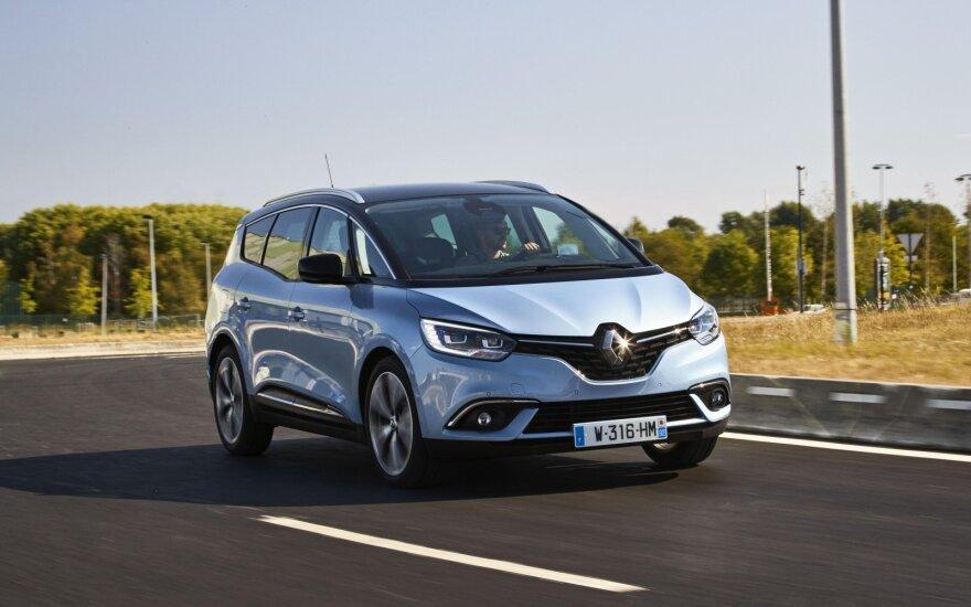 """""""Renault"""" pajamas augina nauji modeliai"""