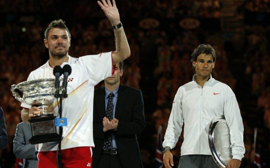 S. Wawrinka triumfavo atvirajame Australijos teniso čempionate