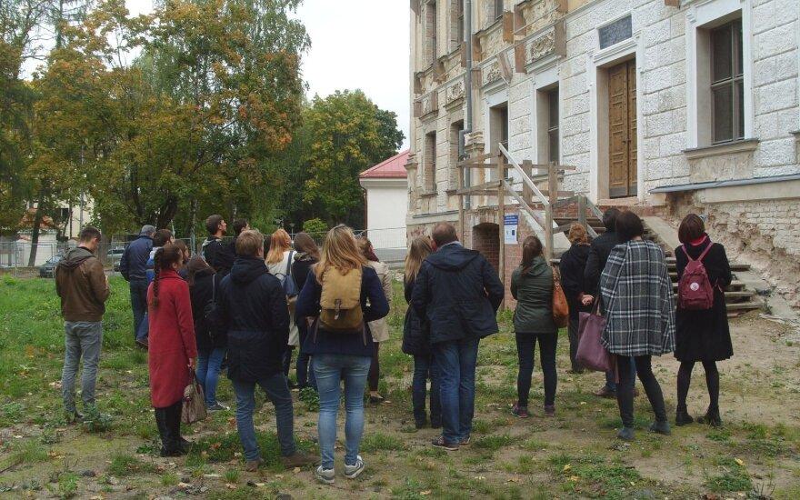 Ekskursija po Sapiegų rūmus (Kultūros paveldo departamento nuotr.)