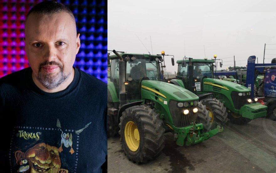Stojo ginti Užkalnio sukritikuotų ūkininkų: neparašysi tu, parašys kas nors kitas