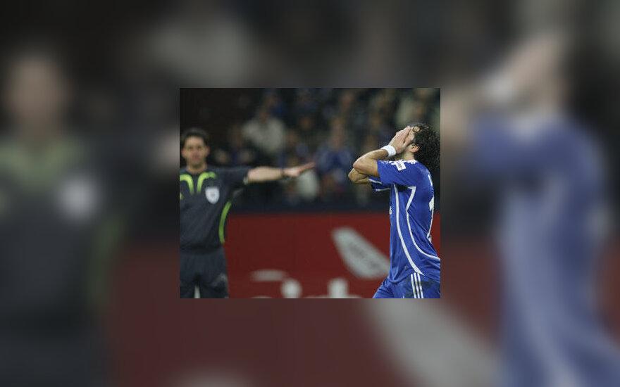 """""""Schalke"""" fubolininkas Lincolnas neslepia apmaudo"""