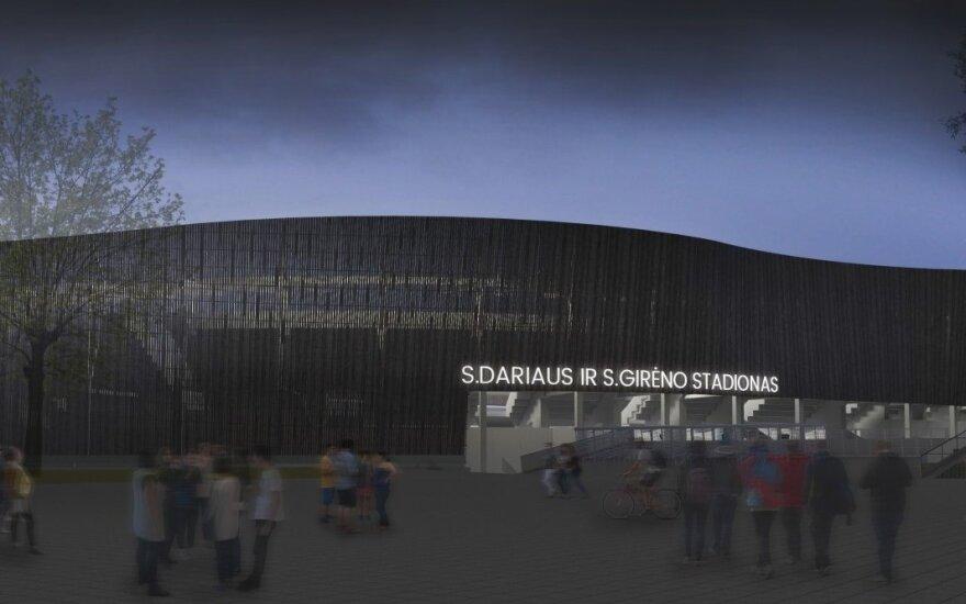 Ledai pajudėjo: prasideda pagrindinio Kauno stadiono rekonstrukcija