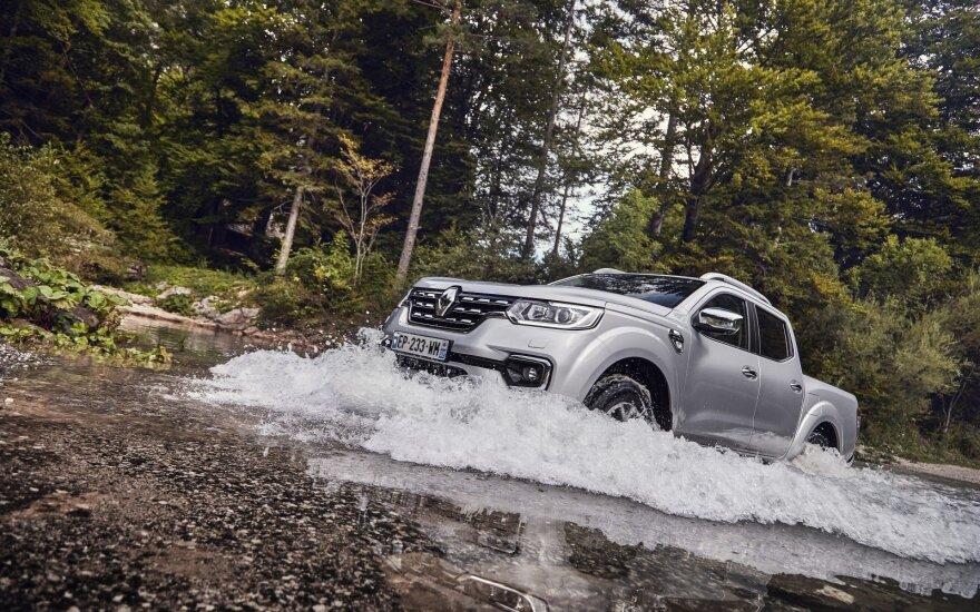 """Spalį Lietuvoje debiutavo naujasis """"Renault Alaskan"""""""
