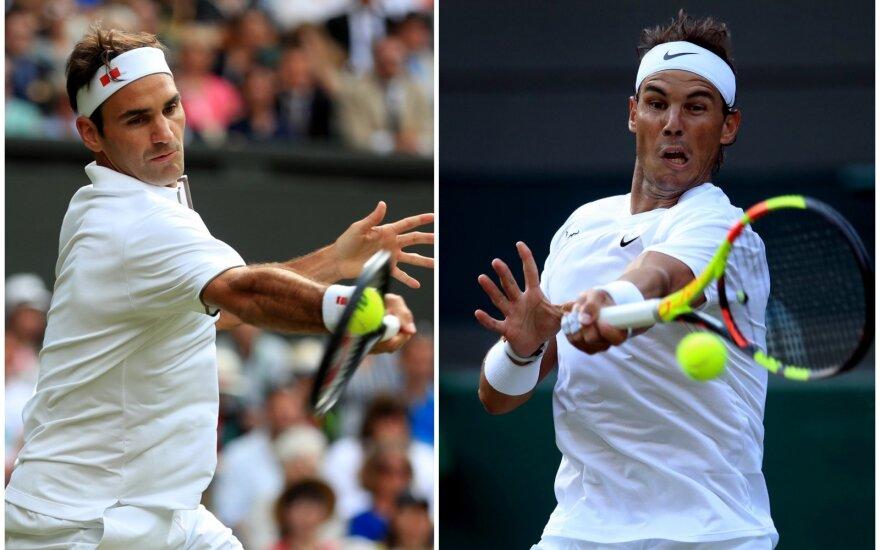 Rogeris Federeris, Rafaelis Nadalis