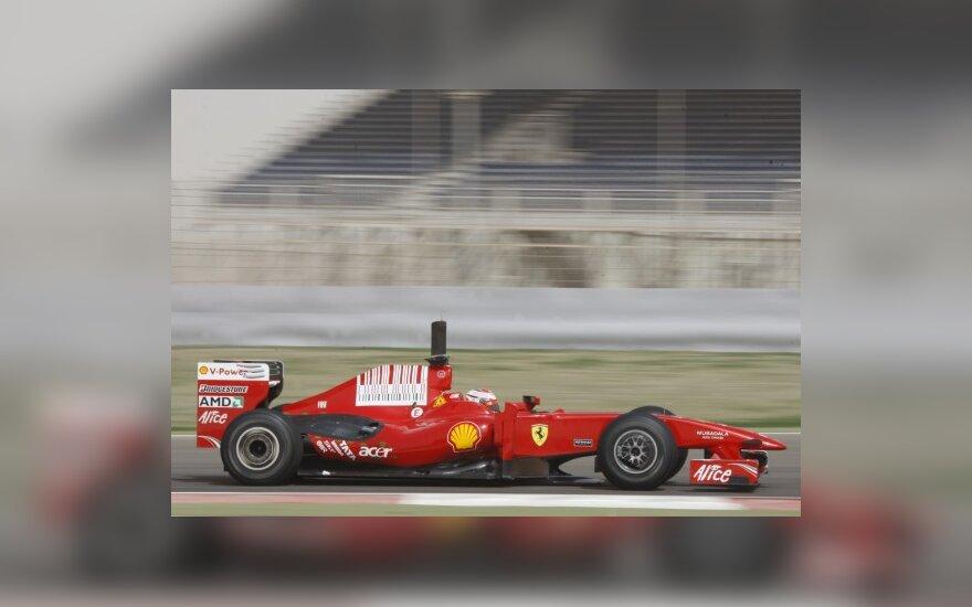 "K.Raikkonenas naujuoju ""Ferrari"" liko patenkintas"