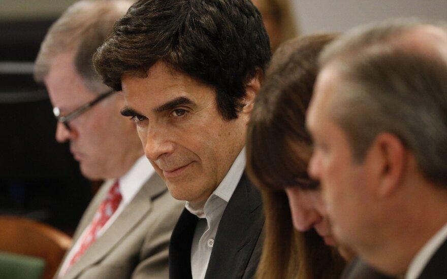 Teismas atskleidė pagrindinio Copperfieldo triuko paslaptį