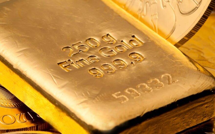 Vokiečiai turi beveik 8 000 tonų aukso