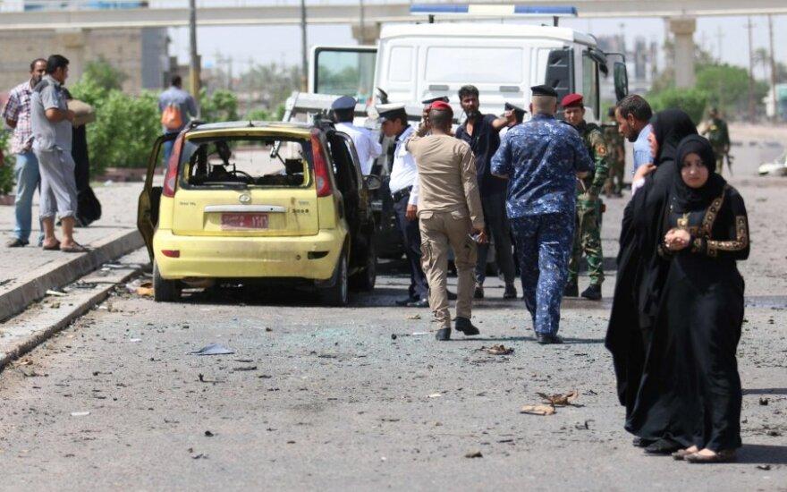 Ataka Irake nusinešė 18-os žmonių gyvybes