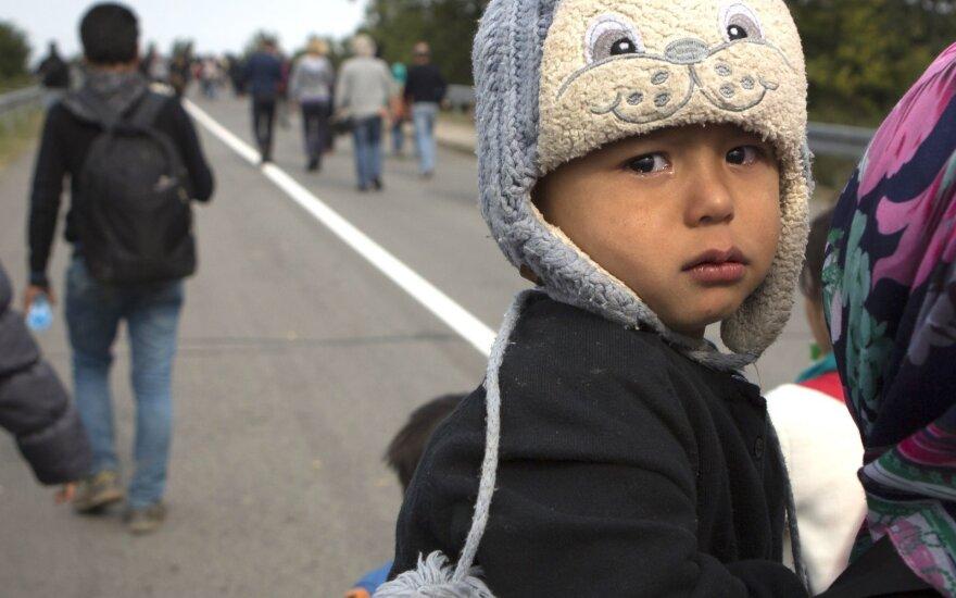 Kaip pabėgėlius priima viena geidžiamiausių šalių