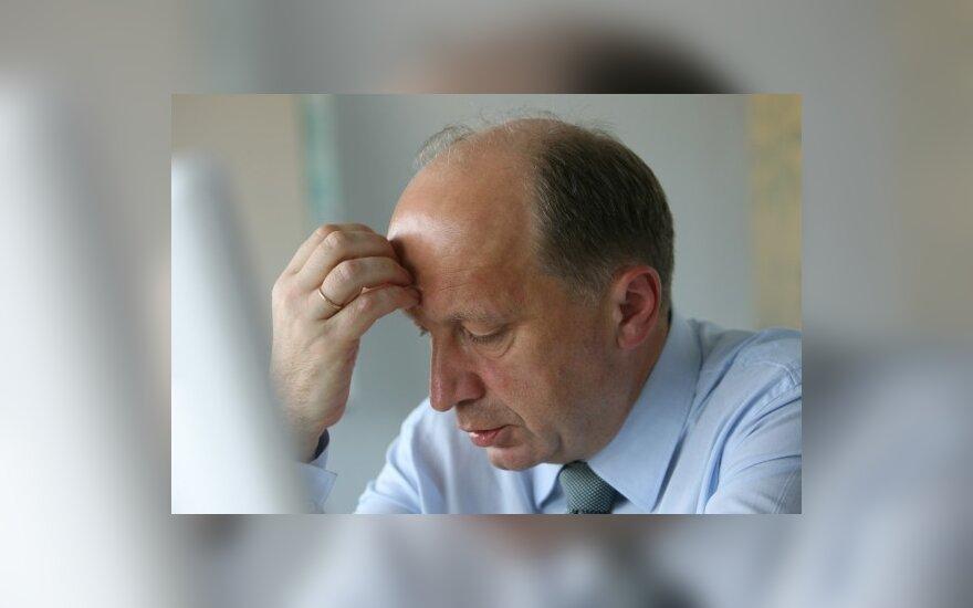 A.Kubilius: nuo nestabilumo šalies finansuose skaudžiausiai nukentėtų patys pensininkai