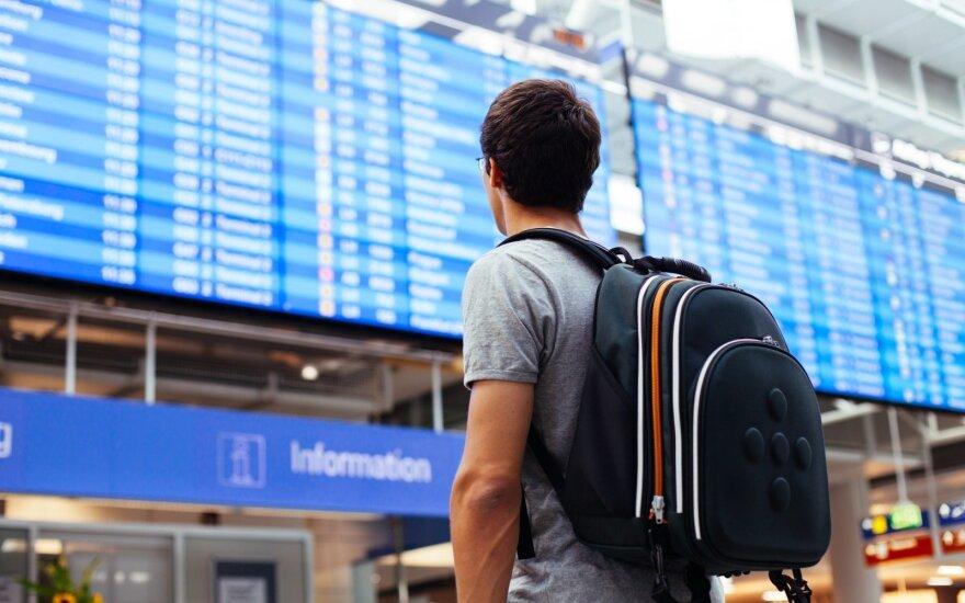 Nuo šiol apie vėluojantį skrydį galėsite sužinoti dar neišėję iš namų