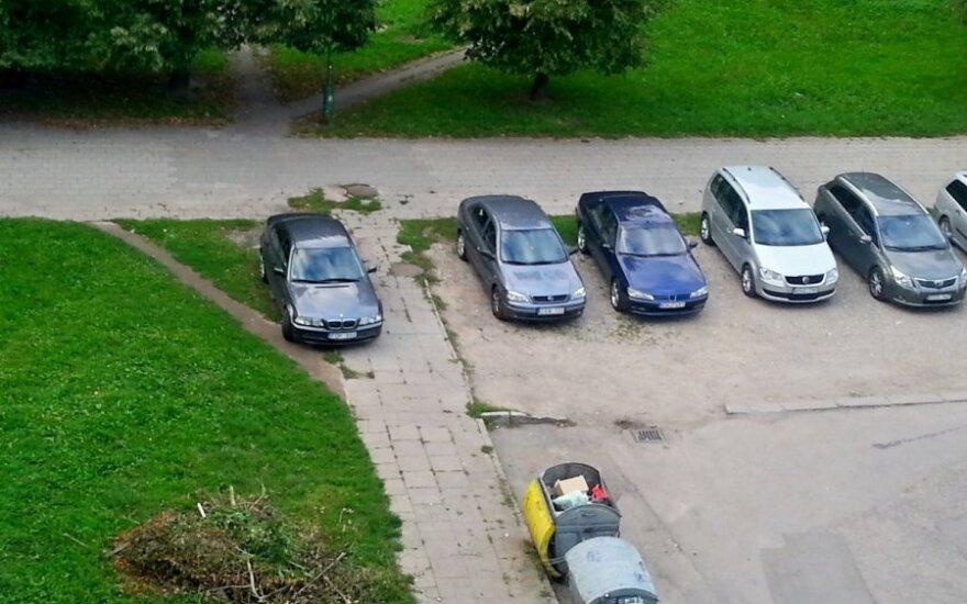 Statybininkų pr., Klaipėdoje, 2014-09-03