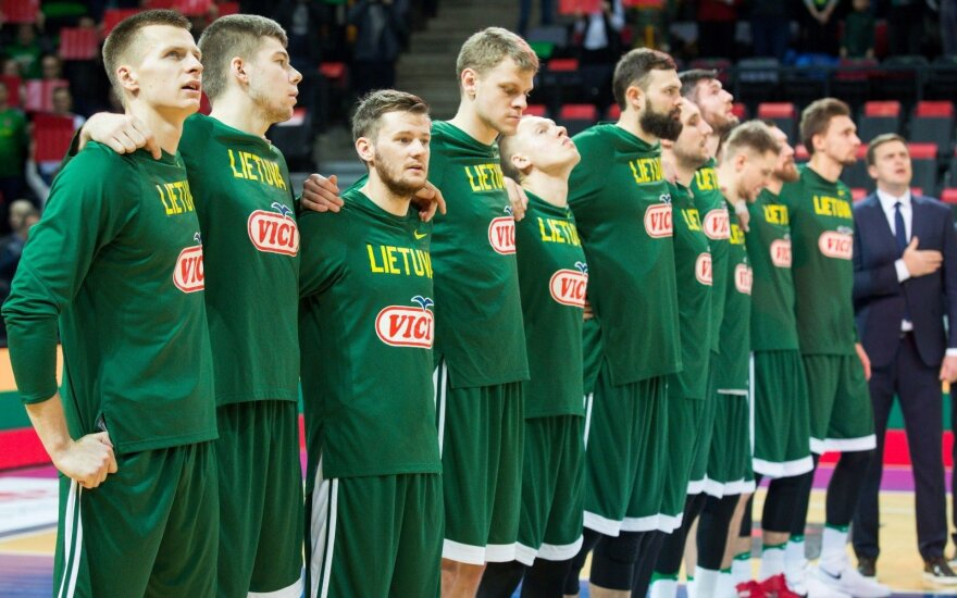 Paskelbtas išplėstinis Lietuvos rinktinės kandidatų sąrašas