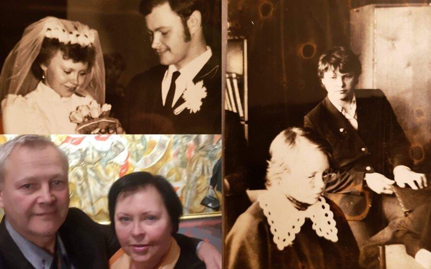 Kęstutis Grubliauskas su žmona.