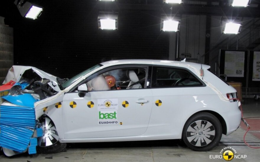 Euro NCAP bandymai: Audi A3