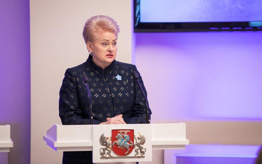 Grybauskaitė pasirašė pataisas dėl individualaus kreipimosi į Konstitucinį Teismą
