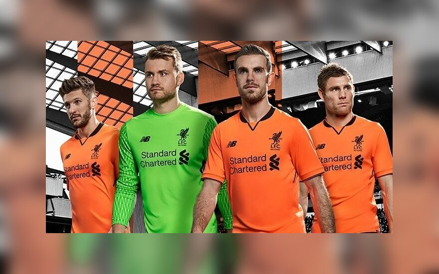 """Liverpool"" nauja apranga"