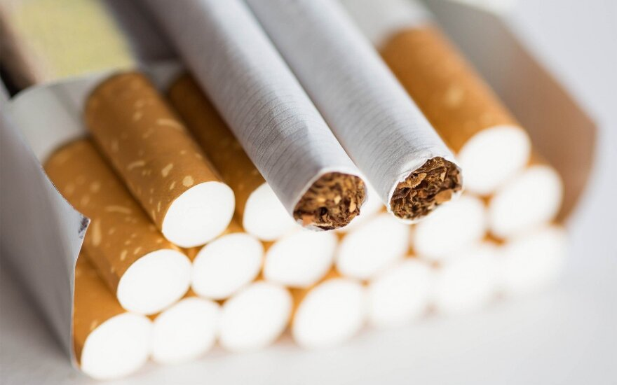 Over half a million packs of cigarettes detained in Lithuanian port of Klaipeda