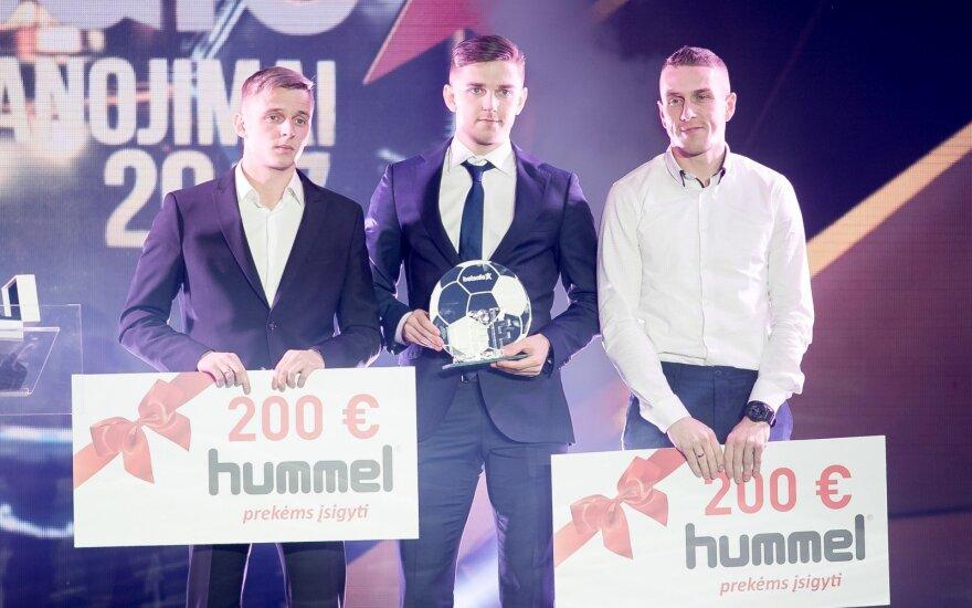 (iš kairės) Arvydas Novikovas, Fedoras Černychas, Vaidas Slavickas