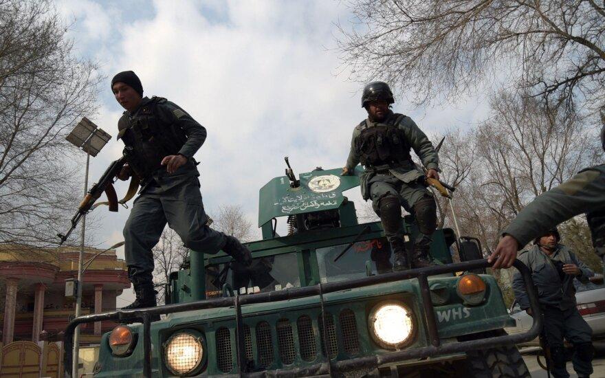 Kabule atakuota ligoninė
