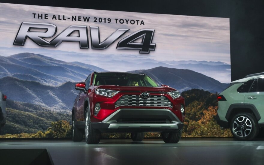 """Toyota RAV4"" (asociatyvi nuotr.)"