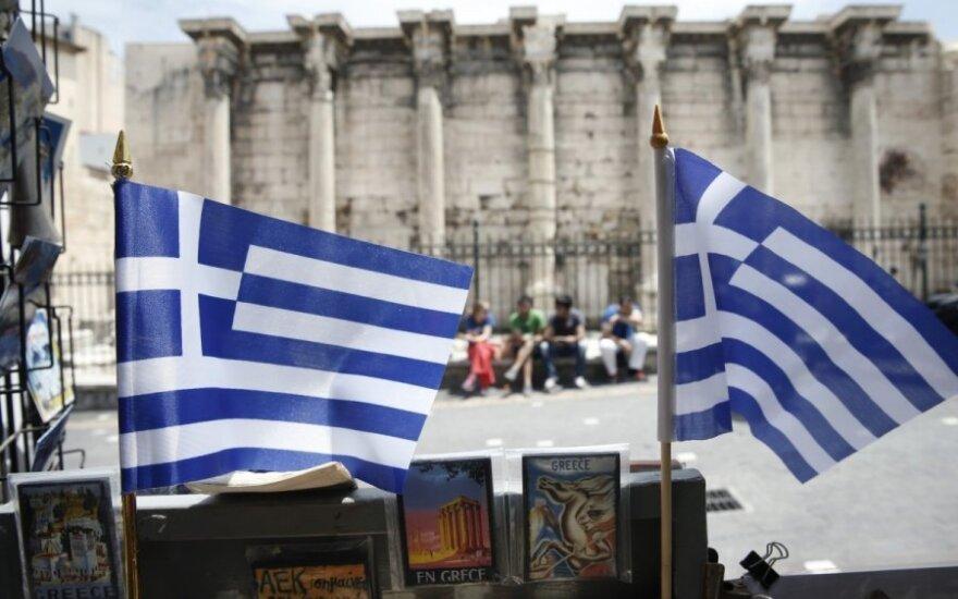 Skaudžiai smogė nežinia dėl Graikijos bankroto