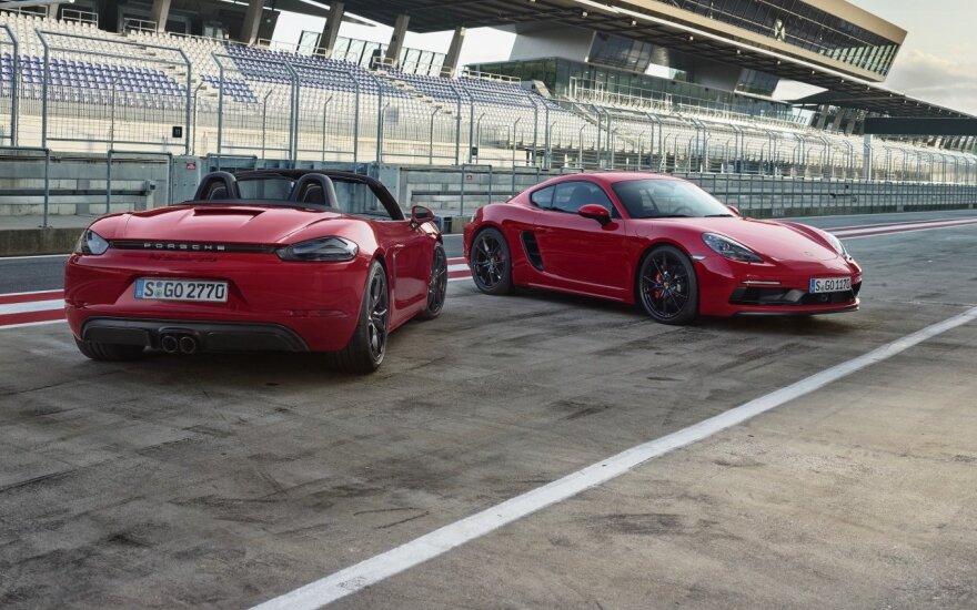 """""""Porsche 718 GTS"""" šeimyna"""