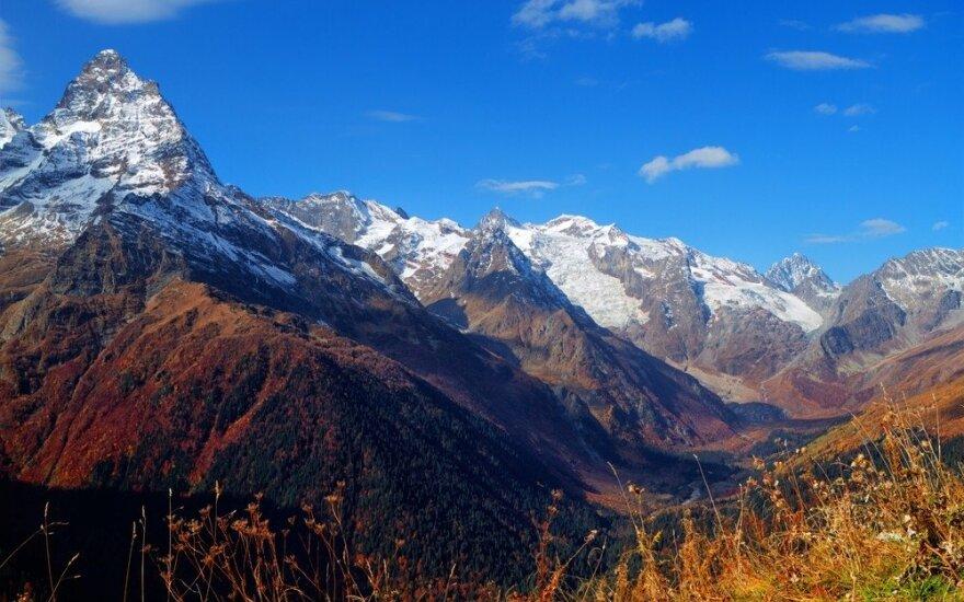 Rusijos Kaukaze žuvo trys alpinistai