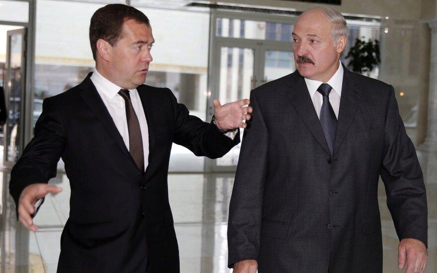 Dmitrijus Medvedevas, Aleksandras Lukašenka