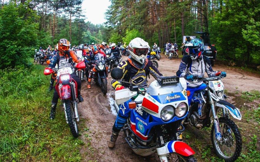 Startuoja iššūkis motociklininkams