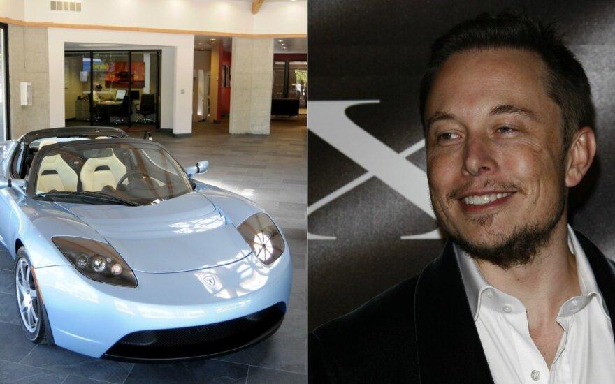 """Metas negalėjo būti labiau nepalankus: kodėl Muskas ryžosi """"Tesla"""" gamyklai Kinijoje"""
