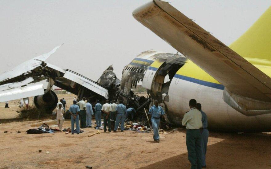 Lėktvuo katastrofa Sudane