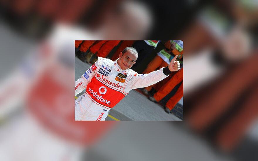 """Lewis Hamilton  (""""McLaren-Mercedes"""")"""