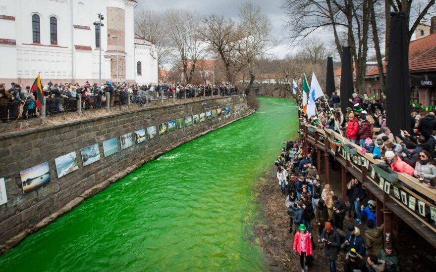 Nenustebkite – šeštadienį Vilnelė nusidažys žaliai