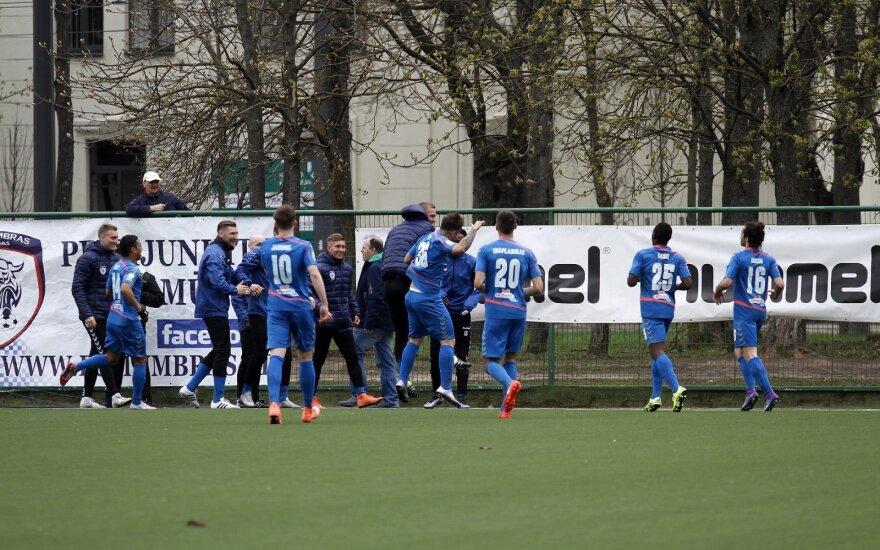 """A lyga. Kauno """"FK Stumbras"""" -  Jonavos """"Lietava"""""""