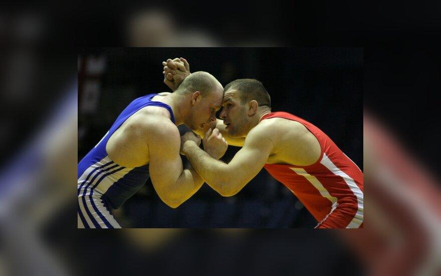Imtynininko M.Ežerskio medalis tapo istoriniu